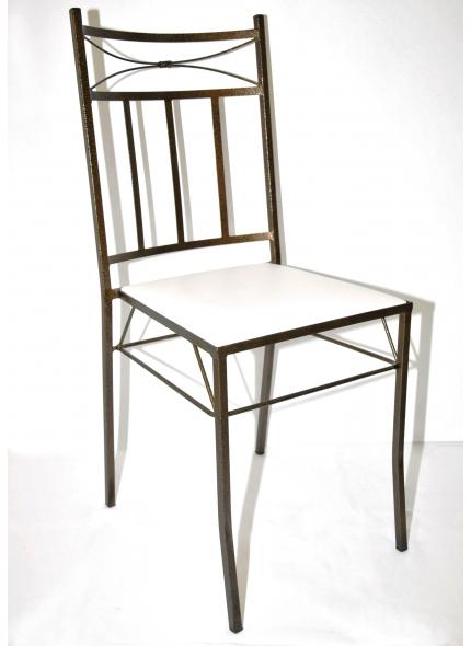 Cadeira Carol bronze Ferro