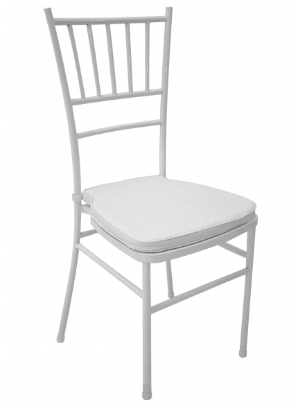 Cadeira Itália Branca Ferro