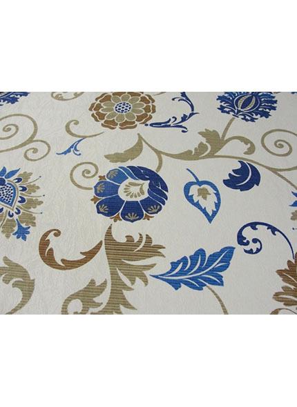 Toalha 1,50X1,50  Floral Azul
