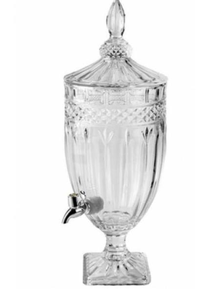 Suqueira Cristal Transparente 4L