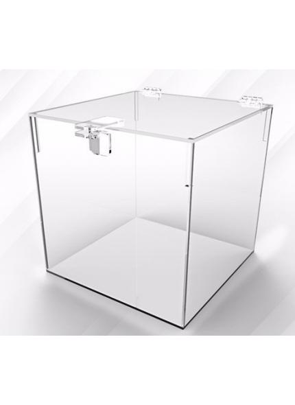 Caixa Acrilico p/ Buquê 0,35x0,35x0,35