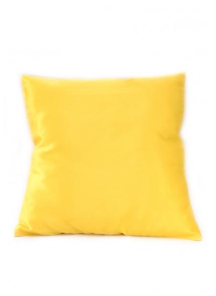 Almofada Cetim Amarela 40x40