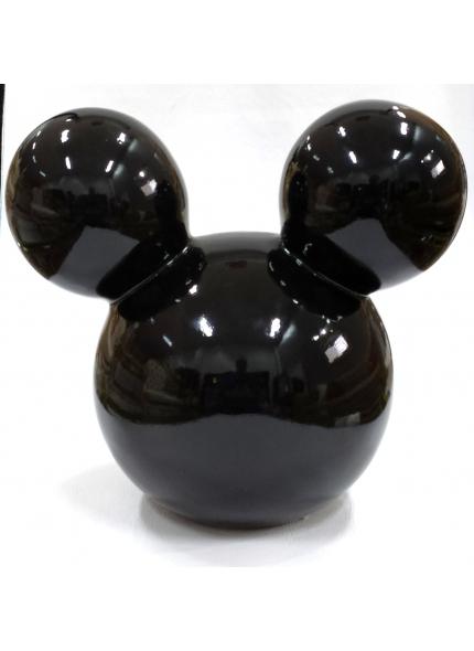 Orelha Mickey Cerâmica G Preta 0,23 ALT